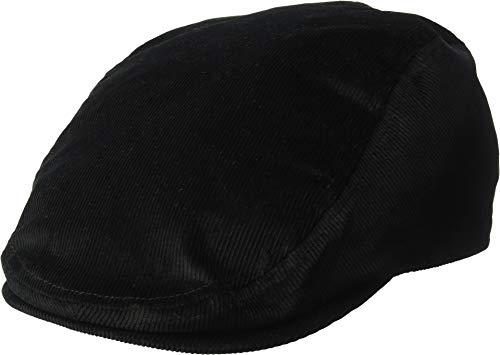 Cap Kangol Ivy - Kangol Men's Cord Flat Ivy Cap HAT, Black, M