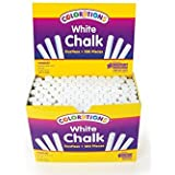 Colorations NODUST White Dustless Chalk (Pack of 100)