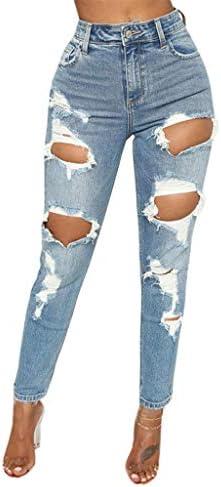 Jotebriyo Womens Ruffle Off Shoulder Denim Jeans Pants with Belt Plus Size Jumpsuit Romper