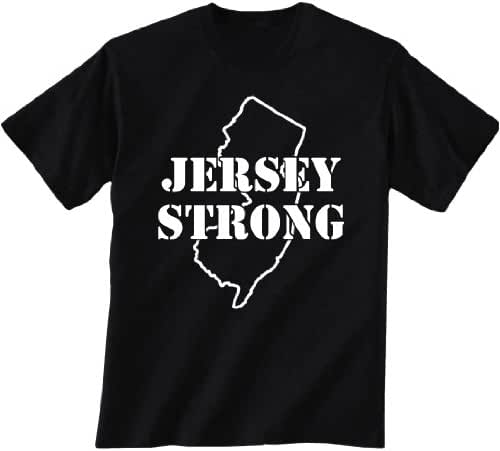 Jersey Strong Short Sleeve T-Shirt in Black