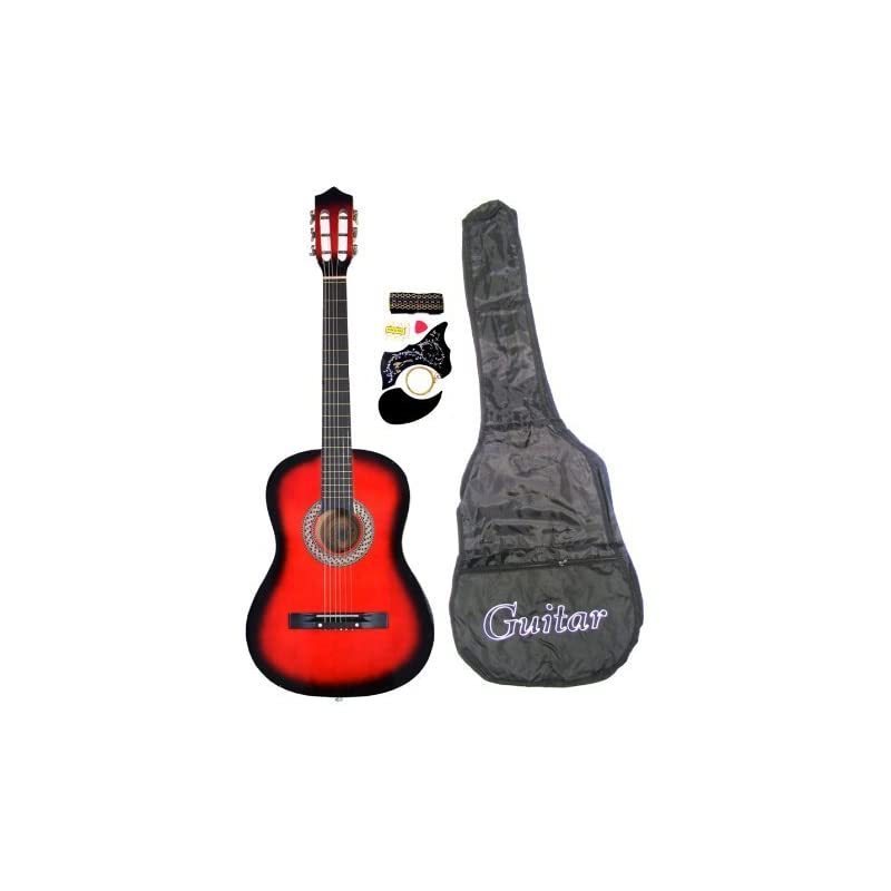 """38"""" Inch Student Beginners RED Acoustic"""