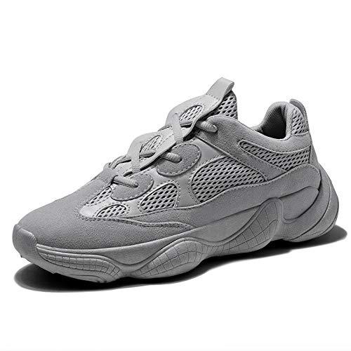 Hasag Turnschuhe gray Schuhe Retro Mesh Gesicht Paar vxvn8ZwOrq