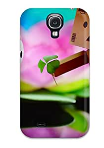 Flexible Tpu Back Case Cover For Galaxy S4 - Love You Kitty 1253045K36857500