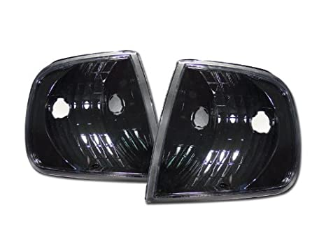 Velocity Concepts Chrome Clear Signal Parking Corner Lights Lamps K2 97-02 03 for Ford F150 Expedition