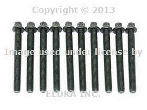 BMW OEM Engine Cylinder Head Bolt Set E30 E36 Z3 11121721939 318i 318is 318i 318is 318ti Z3 1.9
