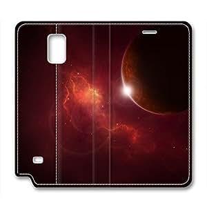 DIY Universe Design Leather Case for Samsung Note 4 ConflagrationKimberly Kurzendoerfer