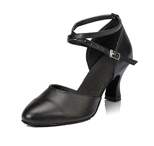7cm femme Miyoopark Black Salle Heel bal de C7UwZqf