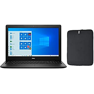 Dell Inspiron 15 Touchscreen HD Laptop Bundle with WOOV Accessory, 10th Gen Intel Core i3-1005G1, 8GB RAM, 128GB PCIe SSD Boot + 1TB HDD, Wireless-AC, HDMI, Windows 10 Home - Black