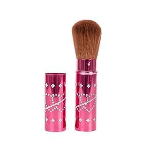 Dream Maker® Retractable Face Powder Blush Brush (Dark Pink)