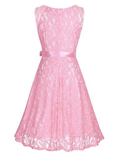 Kleider fur hochzeitsgaste knielang rosa