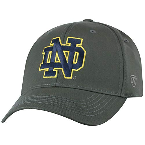 df40f53f55 Notre Dame Fighting Irish Fitted Hats. Top of the World ...