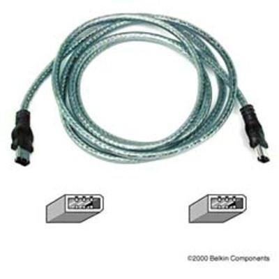 Belkin 14' Ieee 1394 6 Pin To 6 Pin (f3n400-14-ice) -