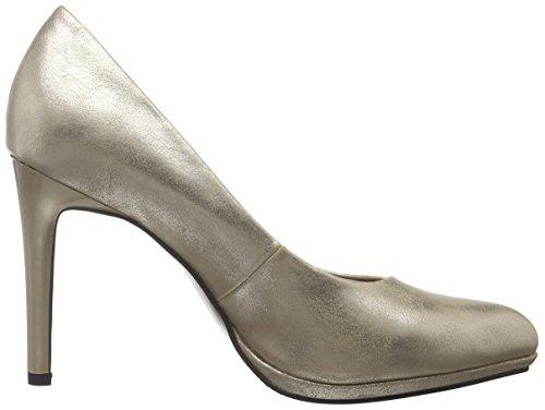 s.Oliver 22419, Zapatos de Tacón para Mujer Dorado (CHAMPAGNER 404)