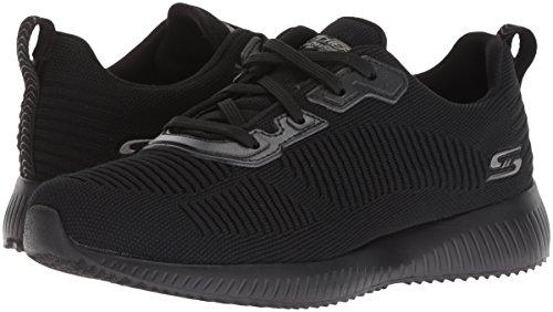 Femmes Noir Chaussures Pour Talk Bobs Fitness Squad black Bbk Skechers tough De RBqCwqg
