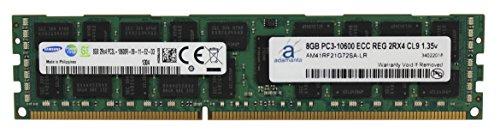 (Adamanta 8GB (1x8GB) Server Memory Upgrade Compatible with Dell Poweredge & Precision Server DDR3L 1333Mhz PC3L-10600 ECC Registered 2Rx4 CL11 1.35v DRAM RAM)