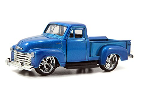1953 Chevy Pickup Truck, Blue - Jada Toys Just Trucks 97007 - 1/32 scale Diecast Model Toy Car (Brand New, but NO BOX) (53 Chevy Truck Model compare prices)
