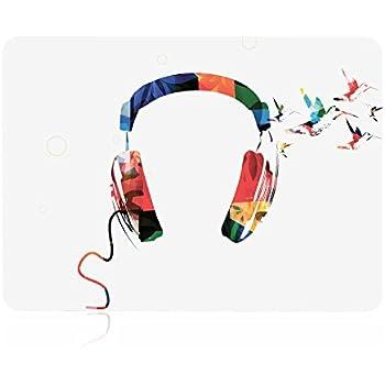 Amazon.com: TOP CASE - Watercolor Headphone Graphic