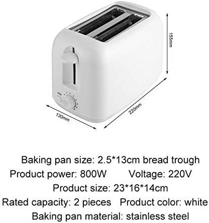NL 2 Grille-Pain avec des Fentes hypersustentateurs et Large, Grille-Pain Petit-déjeuner Outil for Les familles 6 Vitesses réglable Machine de Cuisine