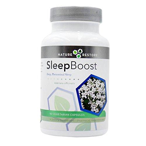SleepBoost, Deep Sleep Supplement, Revitalizing Sleep Formula, 90 capsules, Manufactured in USA (Revitalizing Sleep Formula)