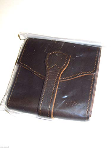 Saddleback Leather Trifold Wrap Wallet - RFID Shielded, 100% Full Grain Leather Wrap Around Wallet with 100 Year -