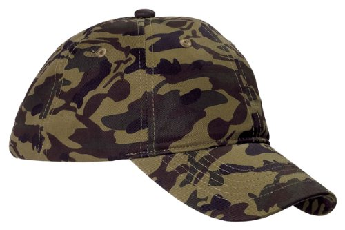 Accessories Bagedge Big (Big Accessories BAGedge Unstructured Camo Hat, GREEN CAMO, One Size)