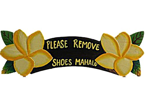 remove shoes sign hawaii - 1