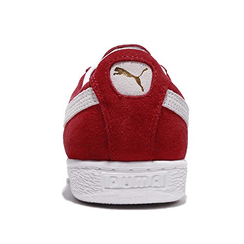 Mixte Suede Baskets Classic Rouge blanc Basses Puma Adulte PICqdKw