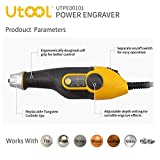UTOOL Engraver, 24W Engraving Tool with Soft Rubber