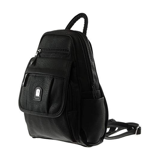 poche Noir main Sacs à mono Multi Angkorly et sacs dos à portés Bretelles plissé Sac épaule femme classiques Tendance qHR4gP