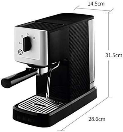 LNDDP Cafetera Espresso, cafetera semiautomática, cafetera doméstica, Mini cafetera Doble Cabezal, cafetera extracción, cafetera Goteo, cafetera Filtro, 145 mm נ286 m: Amazon.es: Deportes y aire libre