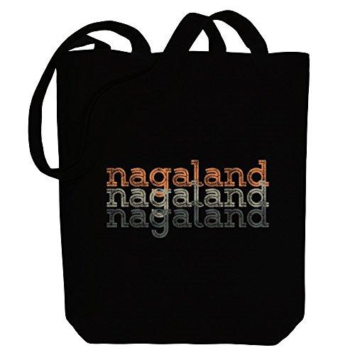 Idakoos Nagaland repeat retro - Hauptstädte - Bereich für Taschen