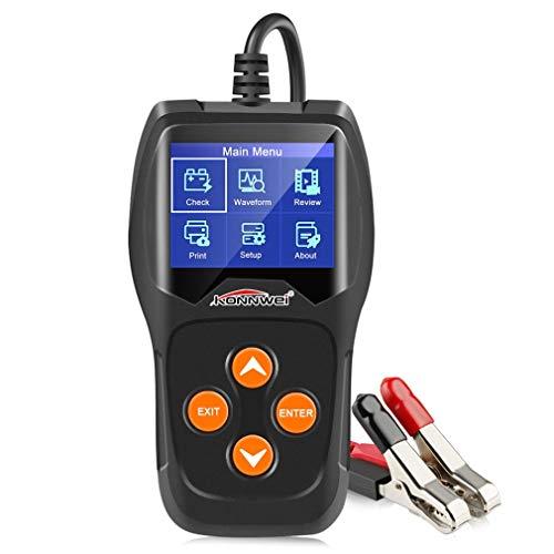 JMT-0825 Kw600 12V Car Battery Detector Battery Car Battery Detector Car Battery Testor Black: Amazon.co.uk: Kitchen & Home