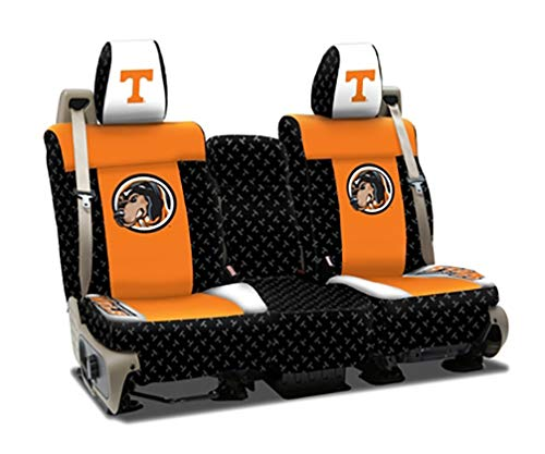 Coverking Front 40/20/40 NCAA Licensed Custom Fit Seat Cover for Select Lincoln Town Car Models - Neosupreme (University of Tennessee) ()