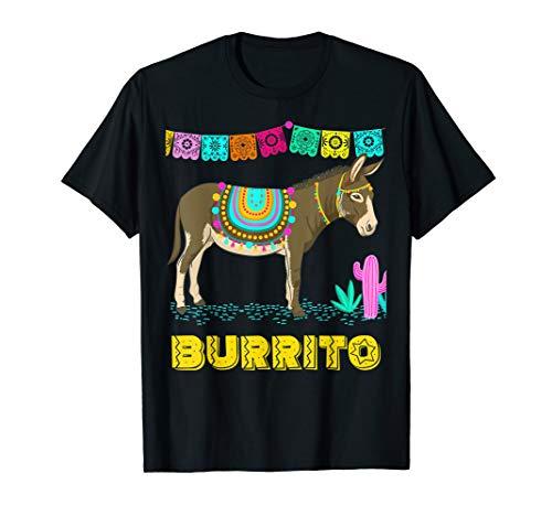 (Burrito. Donkey Cinco de Mayo Mexican Party T-Shirt)