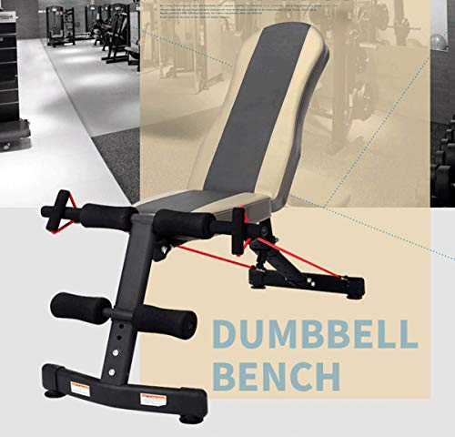 Sit-ups Fitness Equipment Home Multi-Function Supine Board Abdominal  Muscles Exercise Chair Dumbbell Bench