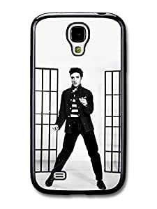 AMAF ? Accessories Elvis Presley Jailhouse Rock King of Rock & Roll case for Samsung Galaxy S4