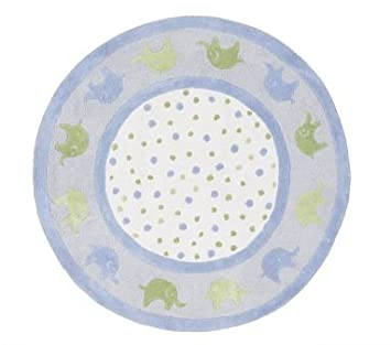 Pottery Barn Kids Elephant Rug Home Decor