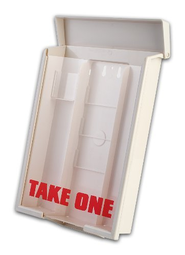 12 White Snap Shut Brochure Boxes Brochure Holder Flyer Box Wholesale Bulk 12 White Snap Shut Outdoor ''Realtor Style'' Info Box Real Estate Marketing Realtor Supplies Bulk Wholesale Case by Snapshut
