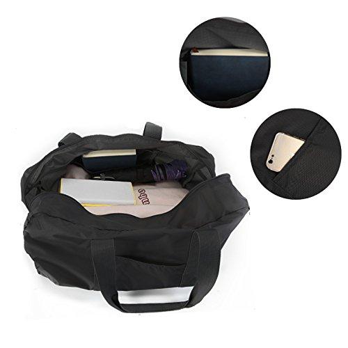 Foldable Duffel Bag Travel Lightweight Gym Sport Portable Luggage Bag For Men Women