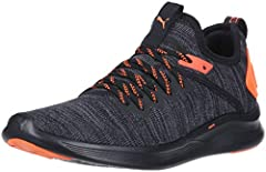 The ignite flash evoknit changes the game by offering evoknit technology at a commercial price-point. With fresh PUMA branding, this shoe caters to the bold, youthful consumer. The tooling features ignite in the heel, providing a lightweight,...