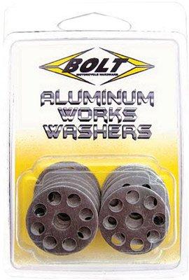 10/Pk Alu Works Washers 18Mm