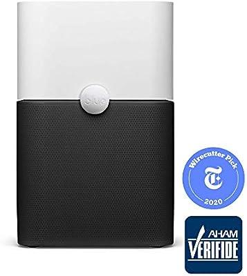 Blue Pure 211+ purificador de aire de 3 etapas con dos prefiltros lavables, partículas, filtro de carbono, captura ...