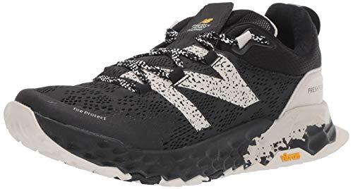 New Balance Men's Hierro V5 Fresh Foam Trail Running Shoe, Black/Moonbeam, 12 2E US
