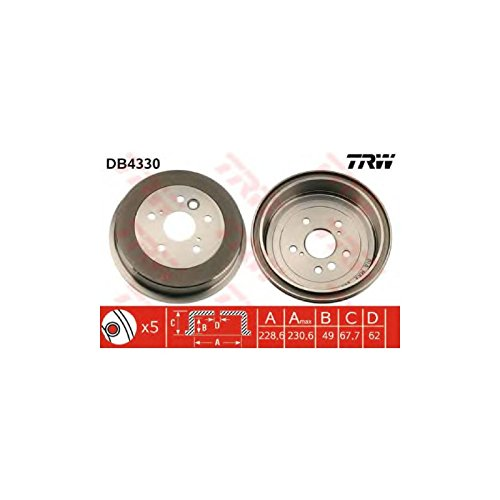 TRW DB4330 Brake Drums: