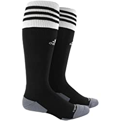 adidas Copa Zone Cushion II Sock, Black/White, Medium