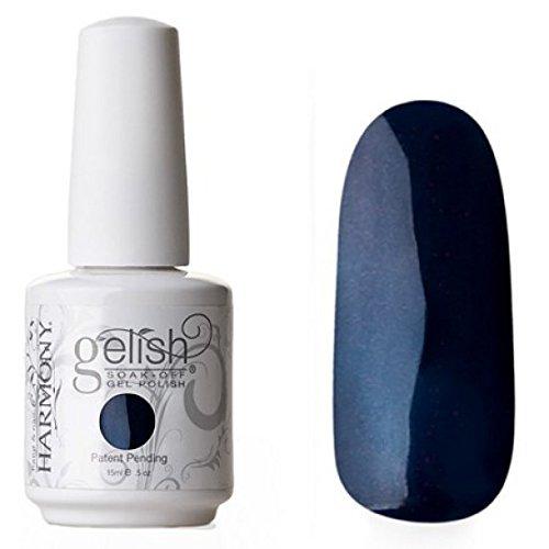 Gelish Soak Off Gel Nail Polish, Deep Sea, 0.5 Ounce
