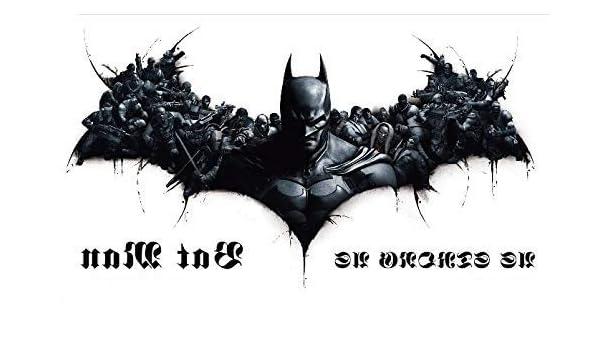 Batman Tattoo Fake Tattoo Negro bc201 Arm Tattoo Cooles Tattoo ...