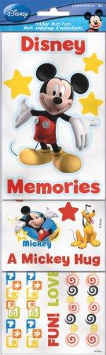 (Sandylion Disney Mickey and Friends Scrapbook Sticker Multipack)