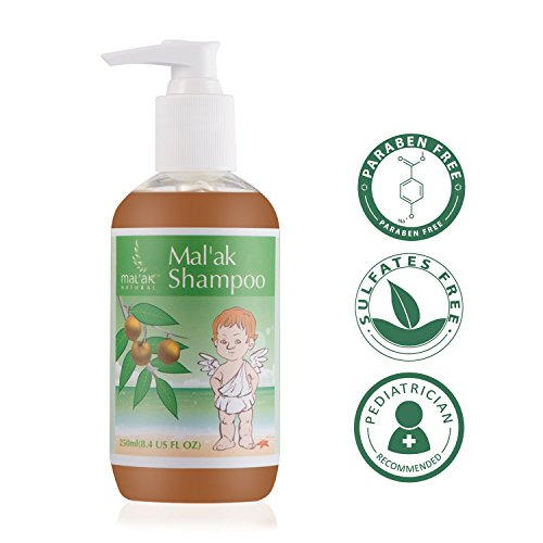 Mal'ak Sapindus Essential Gentle Baby Shampoo & Body Wash, 8.4 fl oz