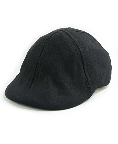 Hemp Camden Pub Cap (black, large) (Pub Black Cap)